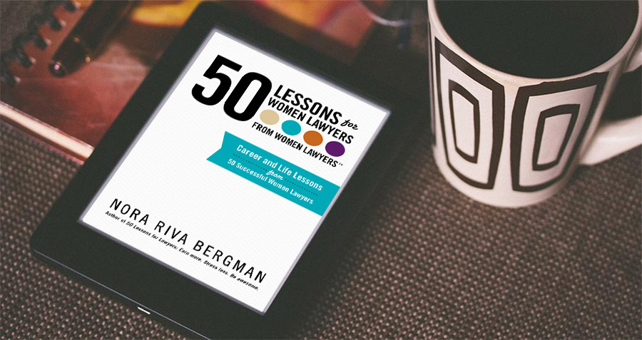 50 Lessons for Women Lawyers from Women Lawyers, book club study guie