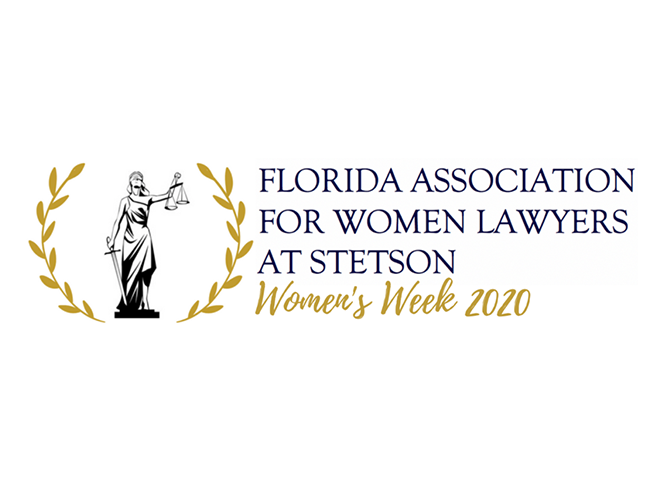 florida association for women lawyers at stetson logo